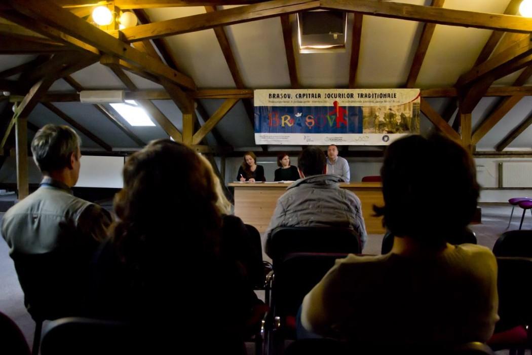 Conferinta de presa, 1 octombrie 2015, Casa Baiulescu - Biblioteca Judeteana Brasov
